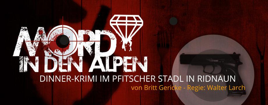 Krimi-Diner: Mord in den Alpen